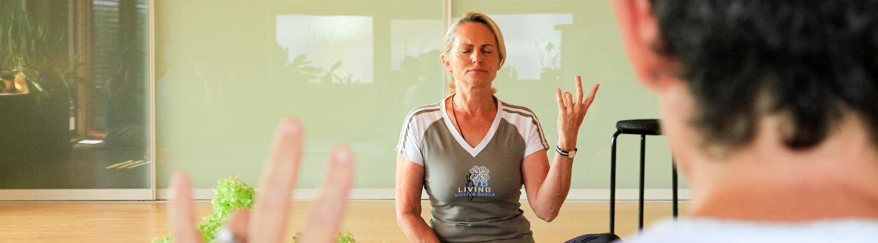 Meditation mit GONG bei Gerti Stoiber