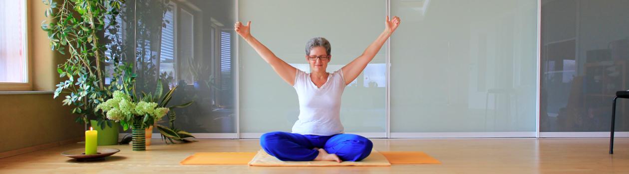 Yoga für Schwangere mit Gerti
